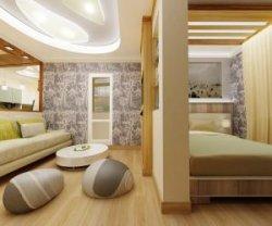 Спальня в однокомнатной квартире: Как обустроить?
